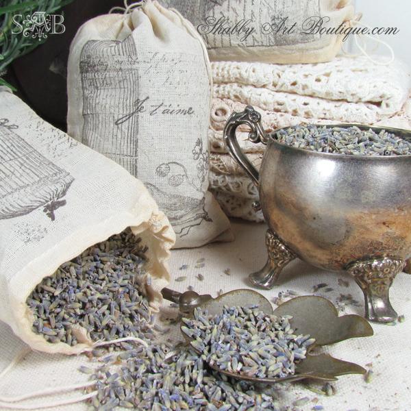Shabby Art Boutique - lavender bags