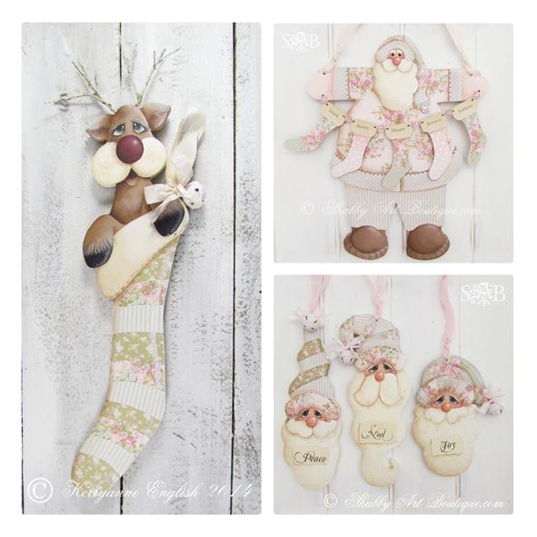 Shabby Art Boutique - shabby vintage Christmas 2014