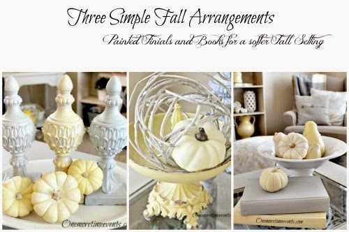 Three Simple Fall Arrangements PicMonkey Collage