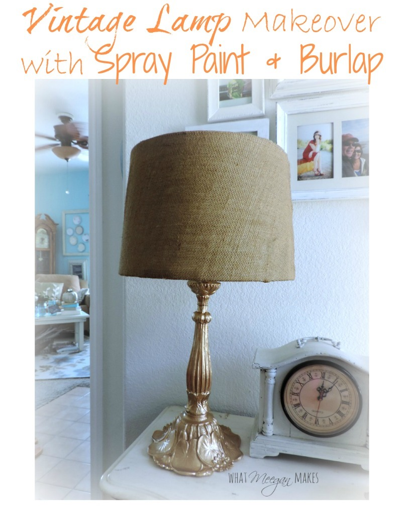 Vintage-Lamp-Makeover-with-Spray-Paint-Burlap