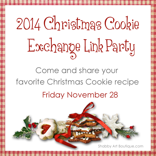 Cookie Exchange Link Party graphic - 600