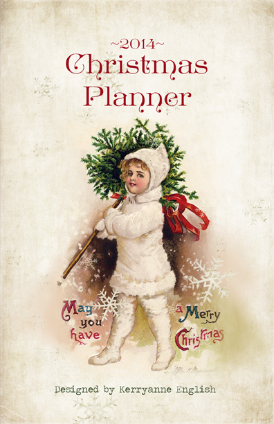Shabby Art Boutique - 2014 Vintage Christmas Planner