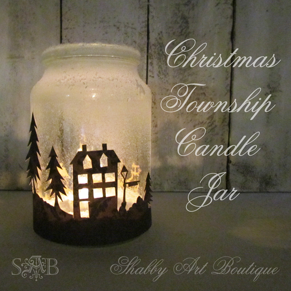 Its no secret women love candles shabby art boutique shabby art boutique christmas township candle jar the scoop solutioingenieria Image collections