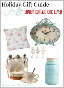Gifts for the Shabby Cottage Chic Lover