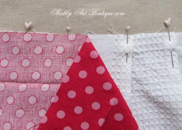 Shabby Art Boutique - Tea Towel Apron 2