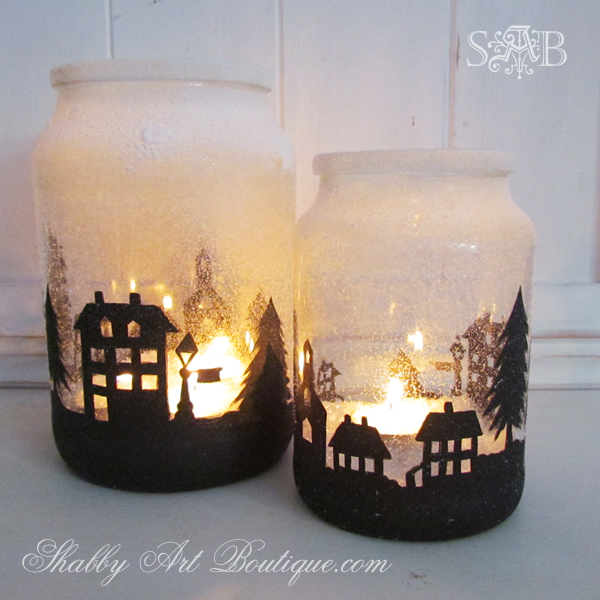 Shabby Art Boutique - Township Candle Holder 2