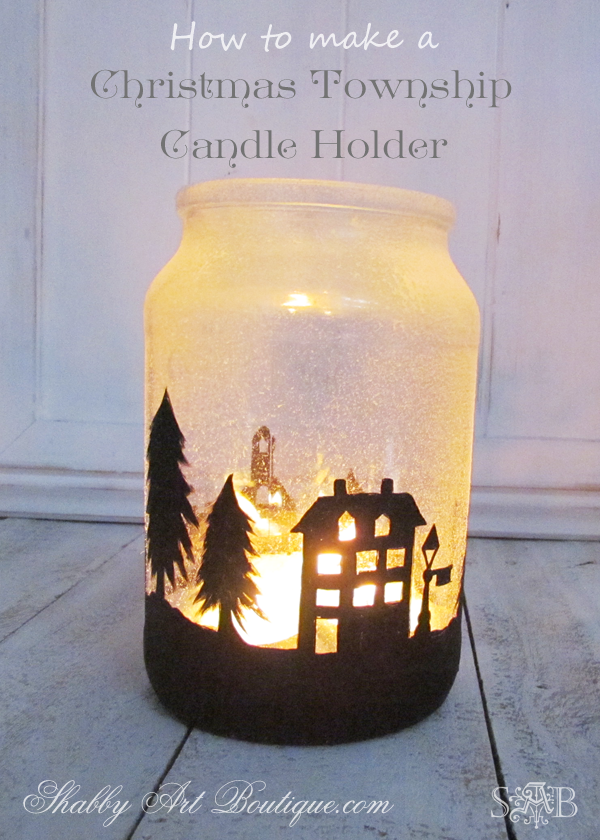 Shabby Art Boutique - Township Candle Holder