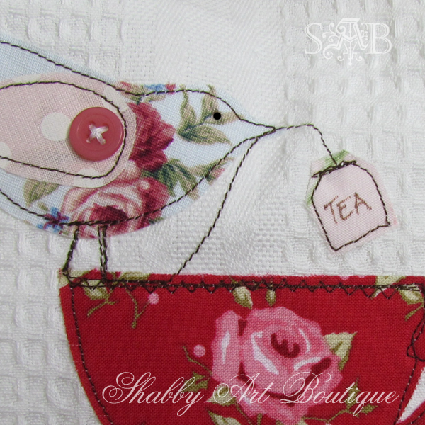 Shabby Art Boutique handmade tea towels 4