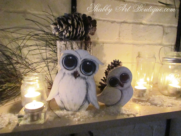 Shabby Art Boutique - how to create a themed Christmas 2