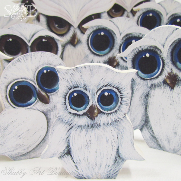 Shabby Art Boutique owls