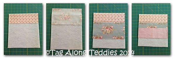 Tag Along Teddies - tutorialCollage