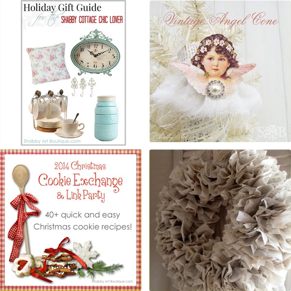 Shabby Art Boutique - 2014 Simply Christmas - Round up 4
