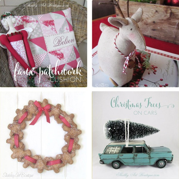 Shabby Art Boutique - 2014 Simply Christmas - Round up 6