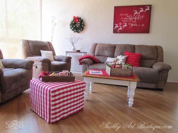 Shabby Art Boutique - Christmas Home Tour - part 1 - 2