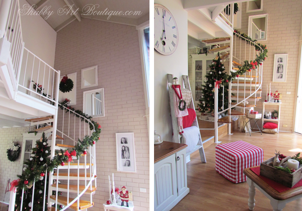 Shabby Art Boutique - Christmas Home Tour - part 1 - 4