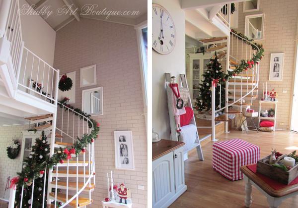 Shabby Art Boutique - Christmas Home Tour - part 1 - 4