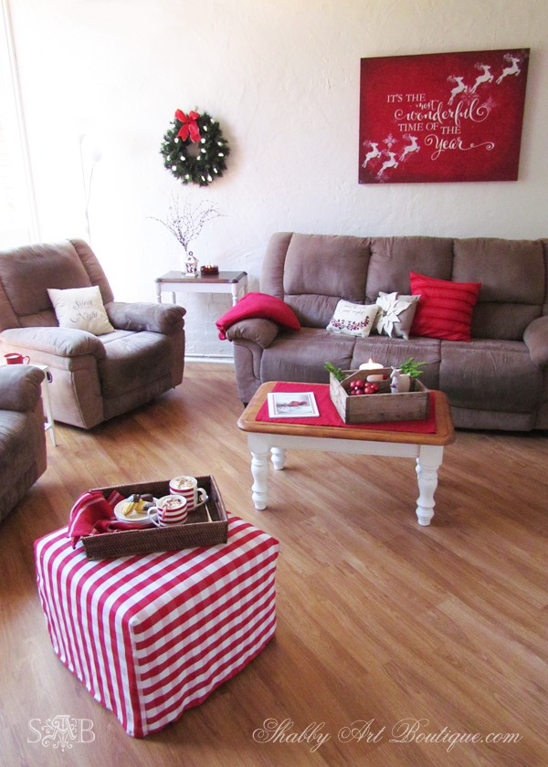 Shabby Art Boutique - Christmas Home Tour - part 1 - 5