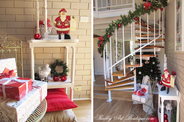Shabby Art Boutique - Christmas Home Tour - part 1 - 6