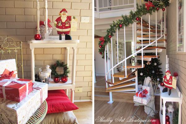 Shabby Art Boutique - Christmas Home Tour - part 1 - 6
