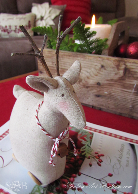 Shabby Art Boutique - Christmas Home Tour - part 1 a