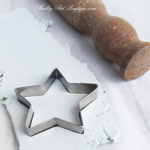 Shabby Art Boutique  - clay tag 2