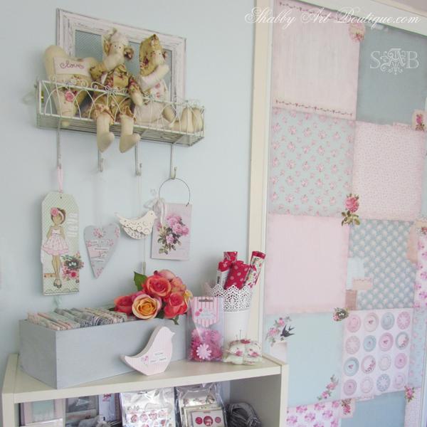 Shabby Art Boutique - craft room 3