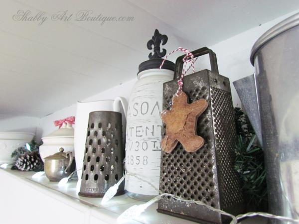Shabby Art Boutique - home tour part 3 - kitchen 7