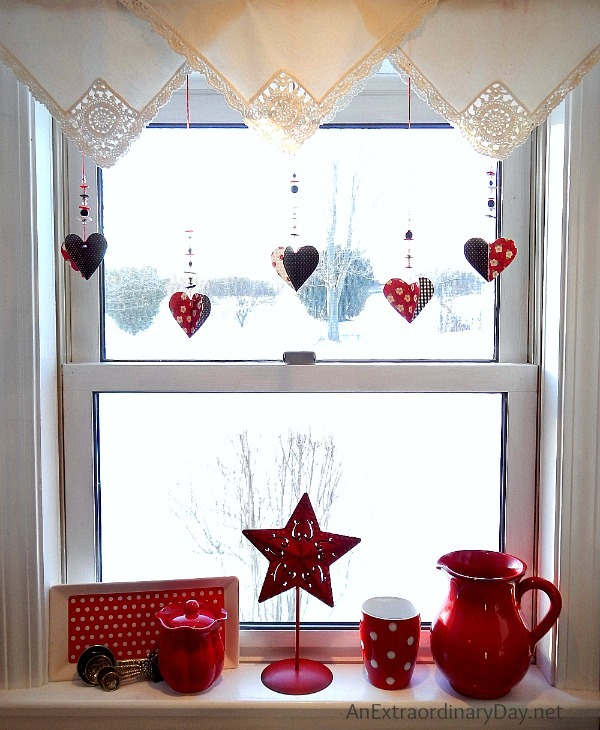Dangling-Beaded-Hearts-Kitchen-Window-AnExtraordinaryDay.net_