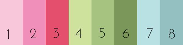 GreenGate Colour Palette