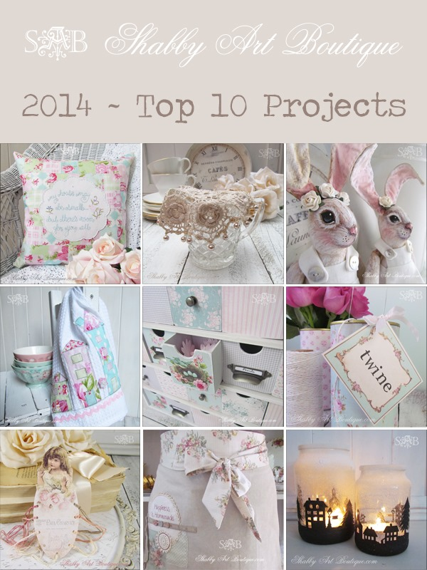 Shabby Art Boutique - 2014 top 10 projects