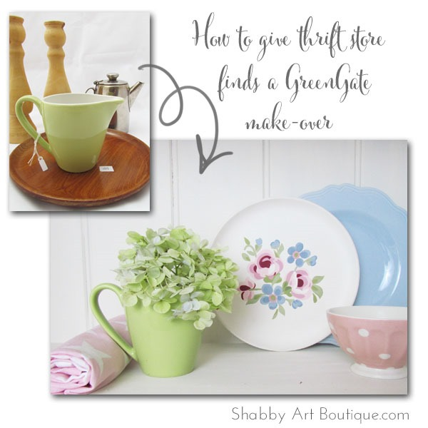 Shabby Art Boutique - A Cottage Life - GreenGate Make-over