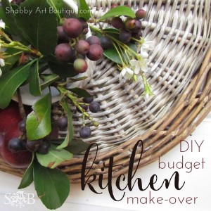 DIY budget kitchen make-over