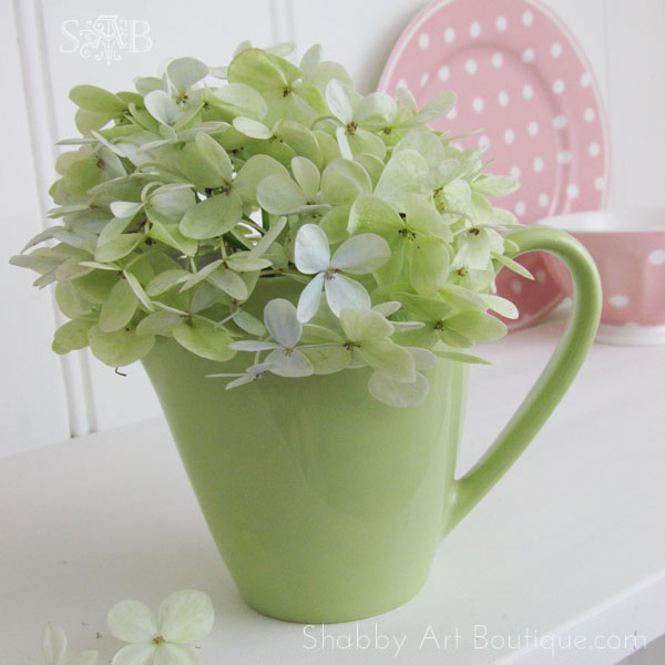 Shabby Art Boutique little green jug