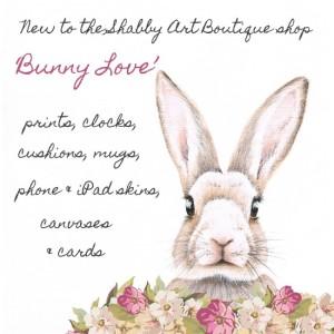 'Bunny Love' homewares