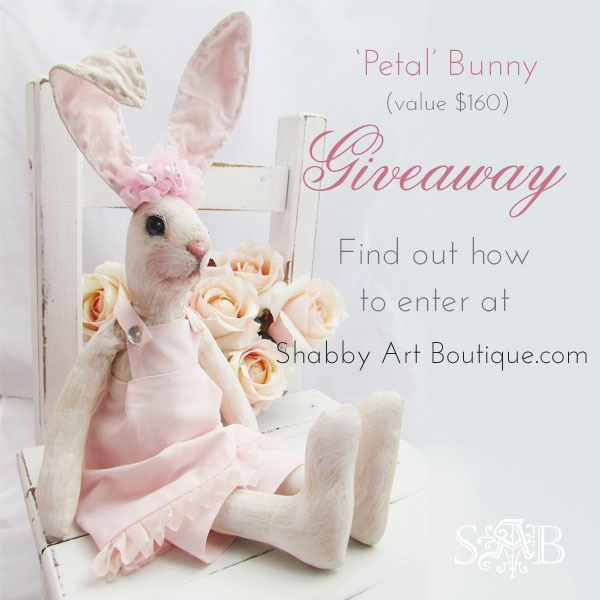 Shabby Art Boutique - Petal Bunny bHome Giveaway