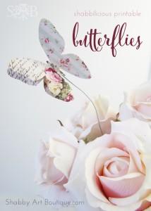 Shabbilicious Butterflies