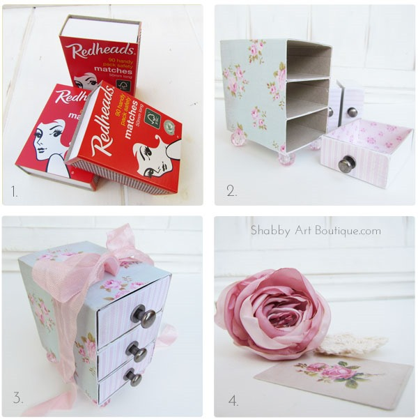 Shabby Art Boutique - 3 drawer gift box tutorial