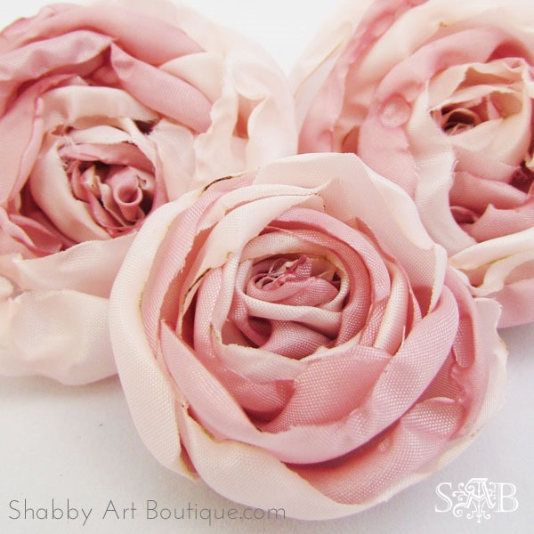 How to make fabric peonies