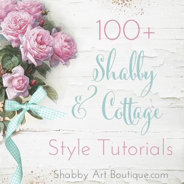 Shabby Art Boutique Tutorials