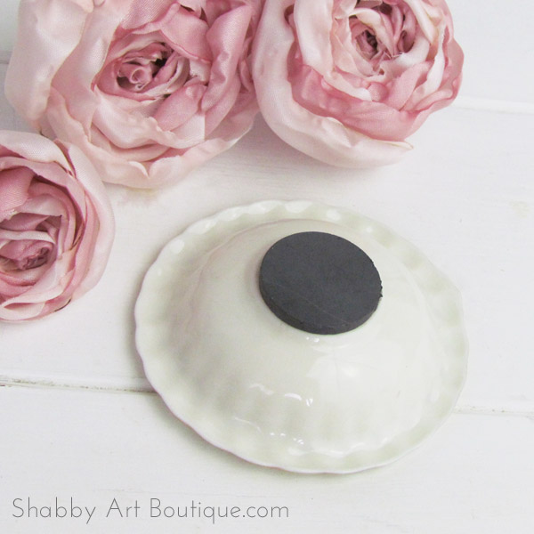 Shabby Art Boutique - DIY Magnetic Pin Dish tutorial 2
