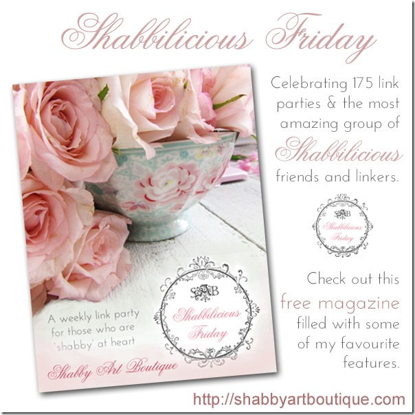 Shabby Art Boutique - Shabbilicious Friday Magazine