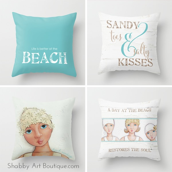 Shabby Art Boutique - Society 6 Store - Beach Vintage