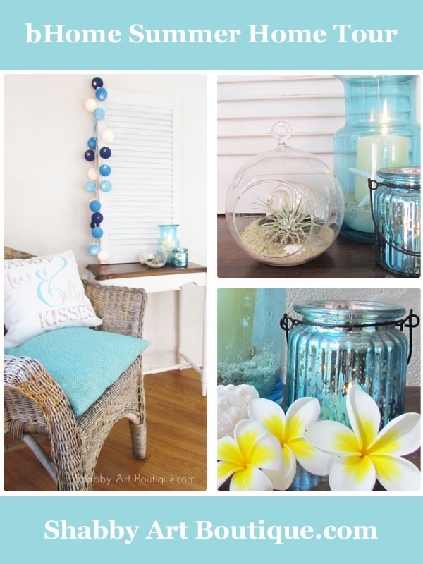 Shabby Art Boutique - bHome Summer Home Tour