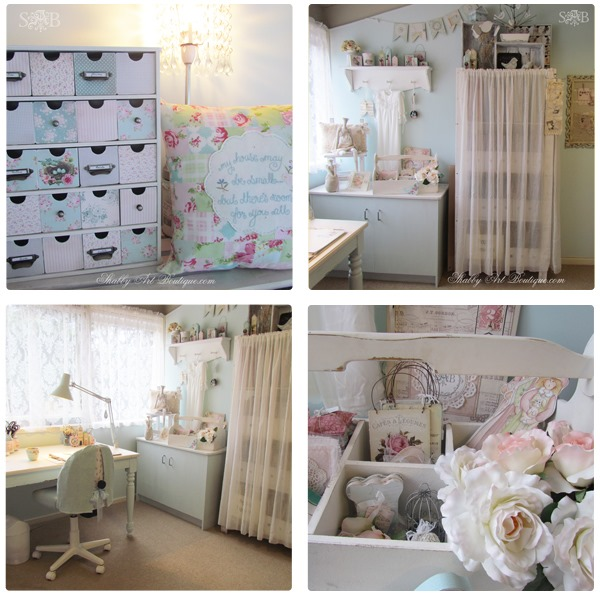 Shabby Art Boutique bHome Summer Tour Craft Room
