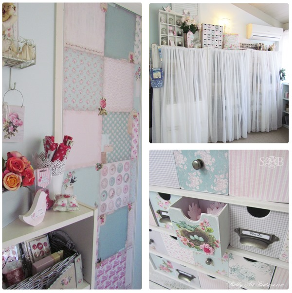 Shabby Art Boutique bHome Summer Tour Craftroom
