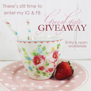GreenGate Giveaway