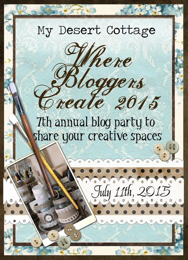 Shabby Art Boutique - Desert Cottage - Where Bloggers Create interview