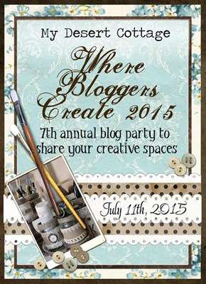 Shabby Art Boutique - Desert Cottage - Where Bloggers Create interview