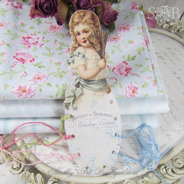 Shabby Art Boutique - Embroidery Floss Organiser 1