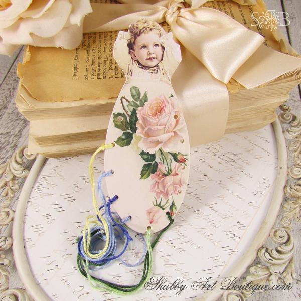 Shabby Art Boutique - Embroidery Floss Organiser 2